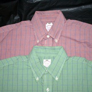 Brooks Brothers 1818 Mens Long Sleeve Button Down
